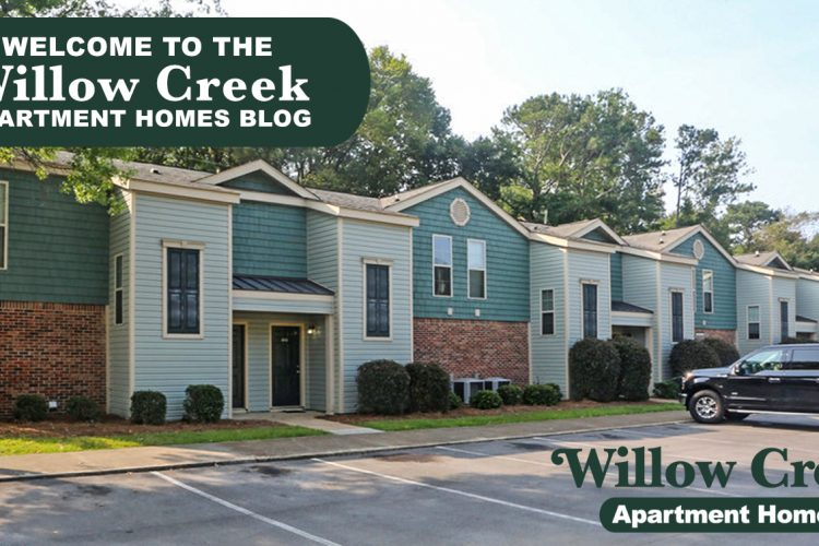 Welcome to the Willow Creek Apartments Blog
