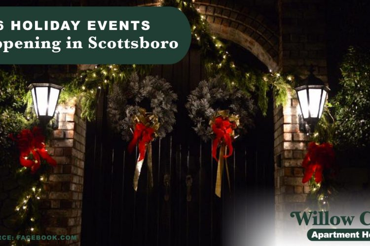 6 Holiday Events Happening in Scottsboro