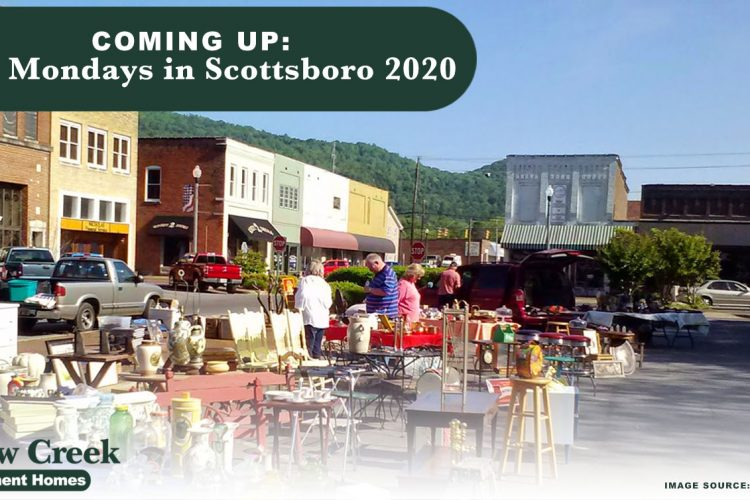 Coming Up: First Mondays in Scottsboro 2020