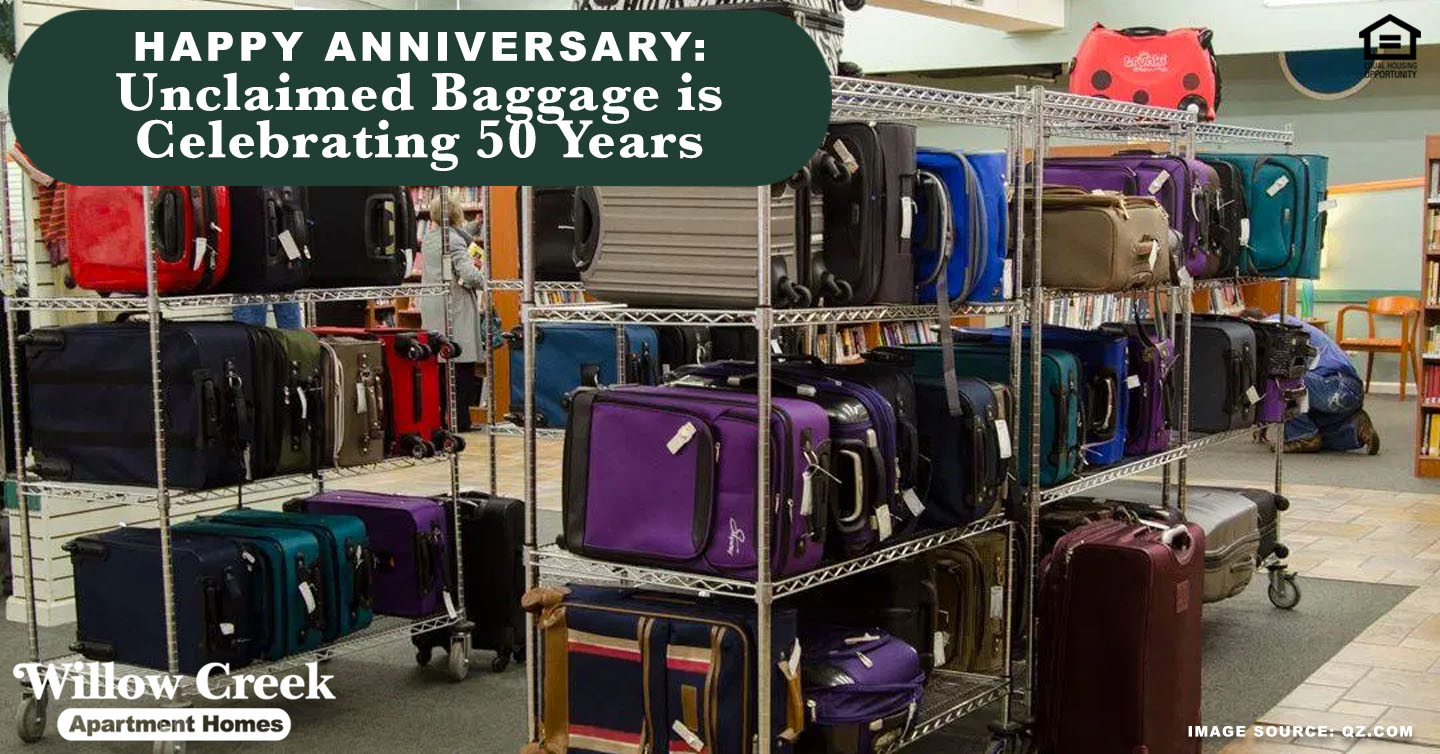 unclaimed baggage is celebrating 50 years