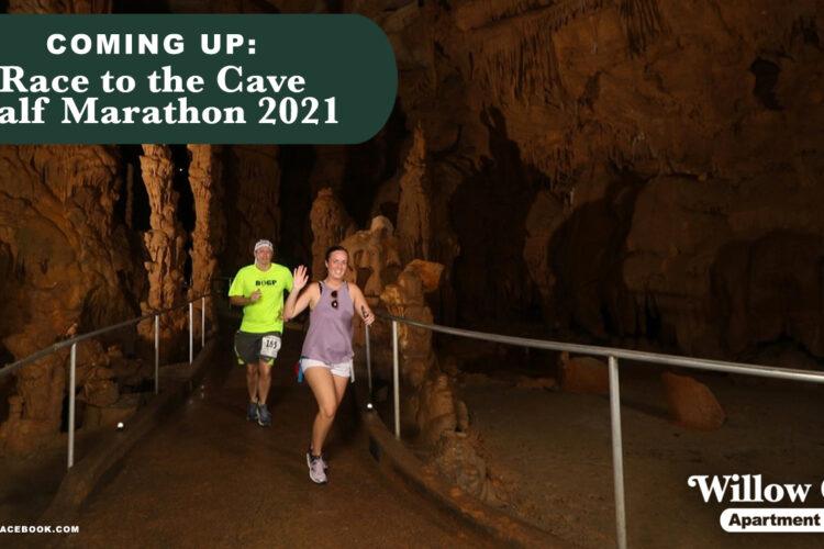Coming Up: Race to the Cave Half Marathon 2021