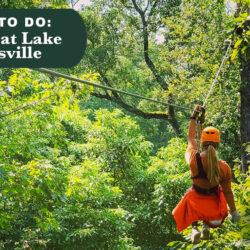 Ziplining at Lake Guntersville